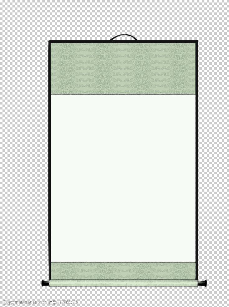卷轴边框图片