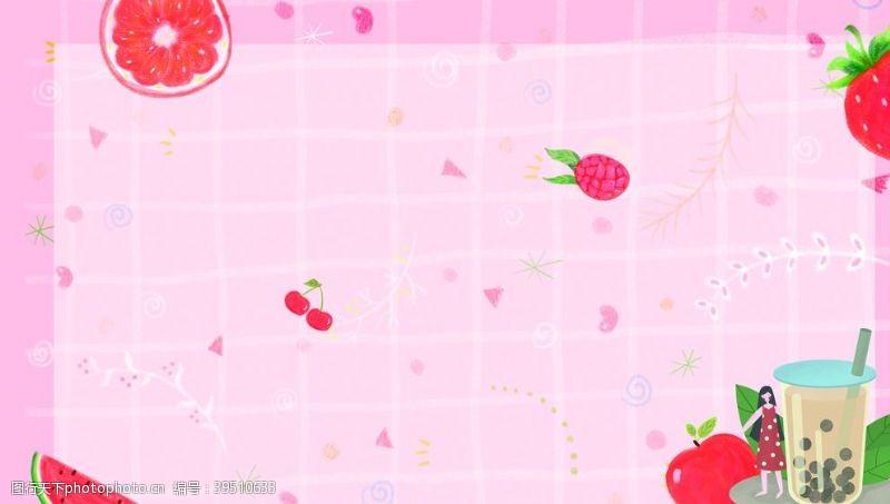 合成水果背景图片