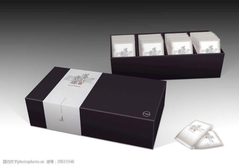 茶礼紫阳富硒茶包装图片