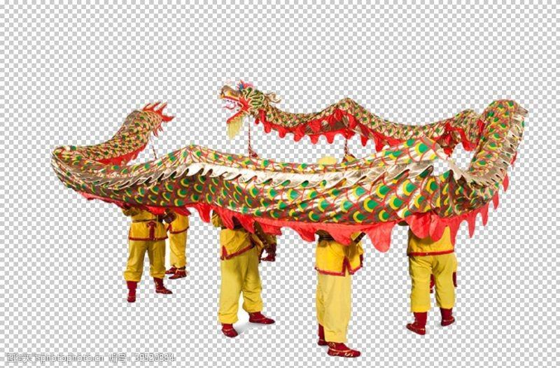 传统节日春节舞狮图片