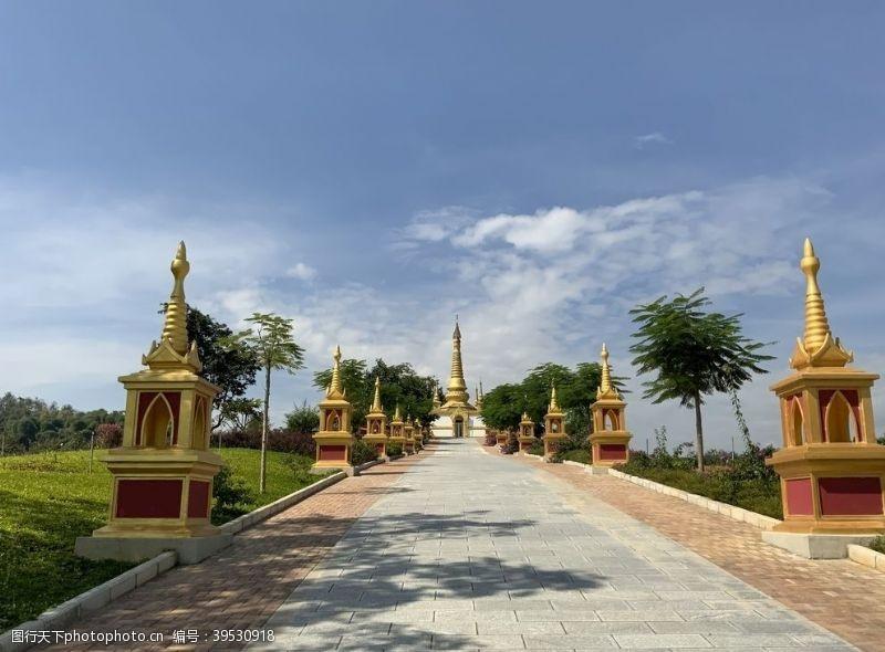 傣族建筑图片