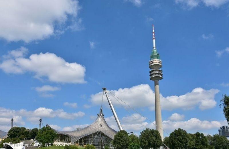 德国柏林奥林匹克体育场图片