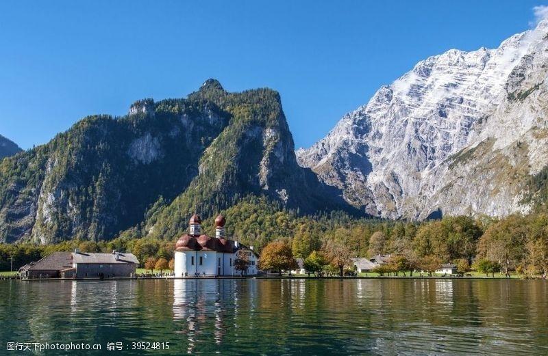 德国国王湖图片