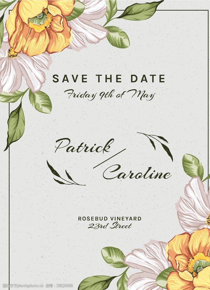 婚礼花卉装饰图片