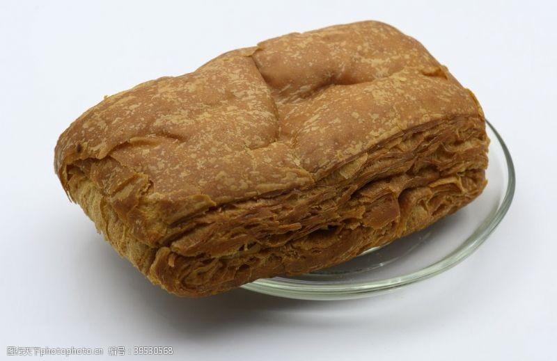 紫米起酥面包图片