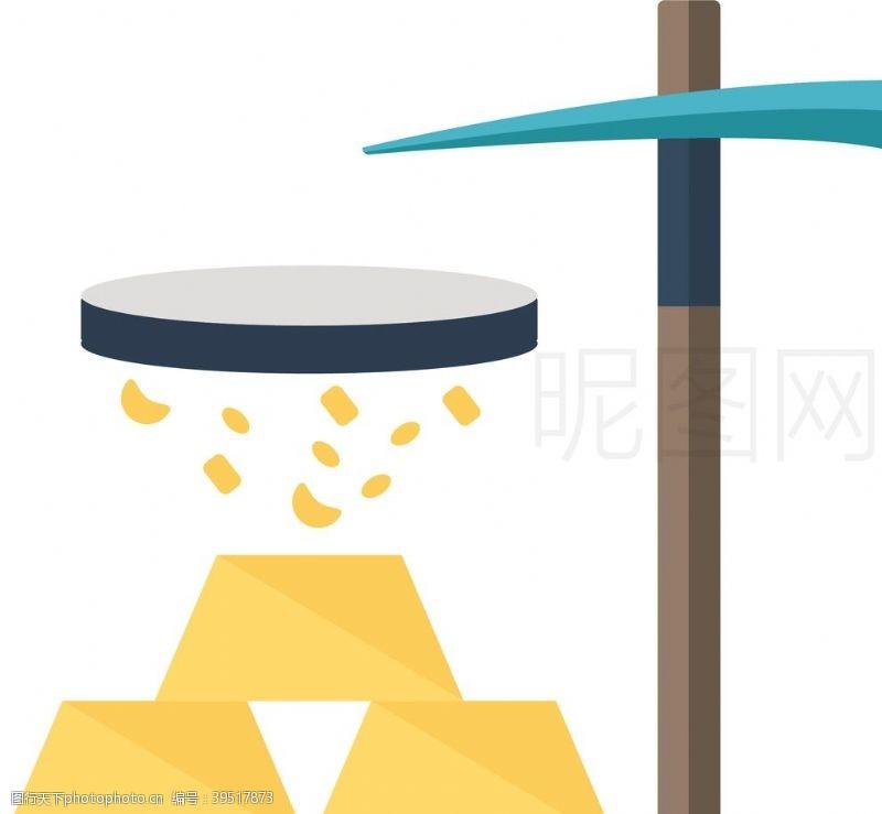 发电淘金图片