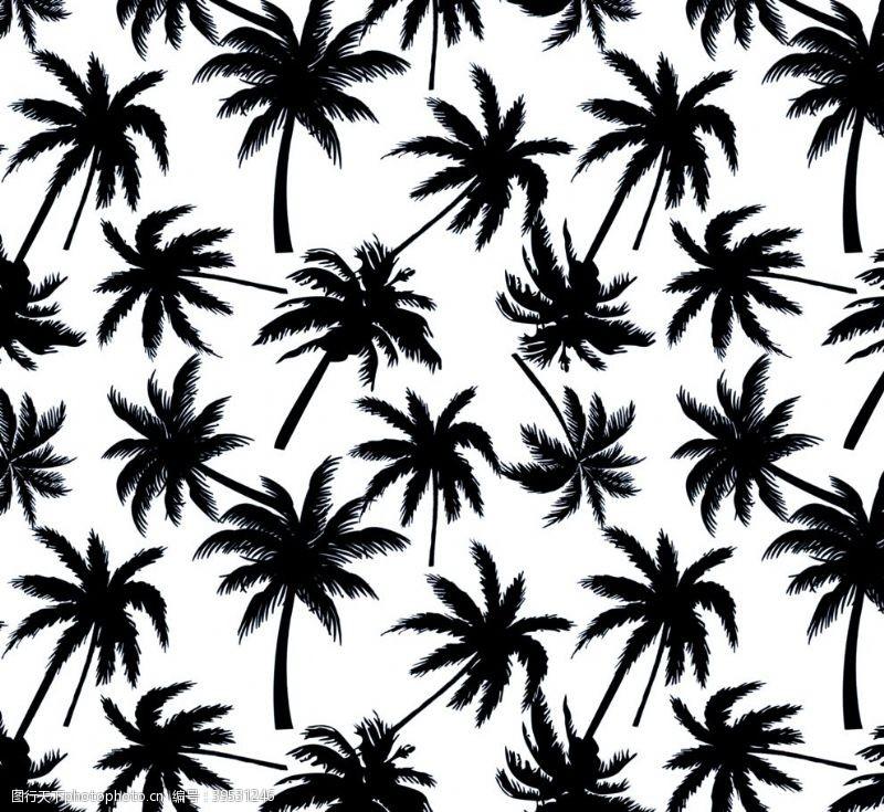 花型椰子树图片