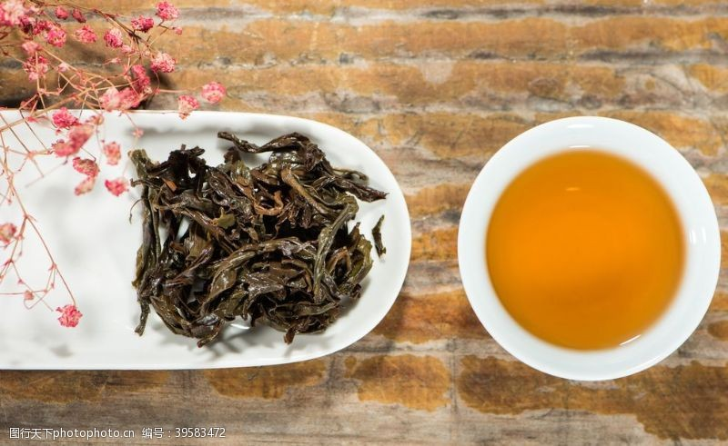 铁观音红茶图片