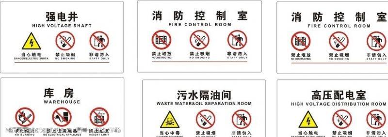 扶梯商场安全标识图片