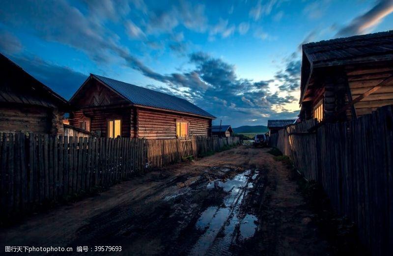 中俄边境小城图片