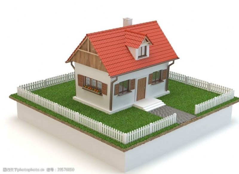 3D建筑模型图片
