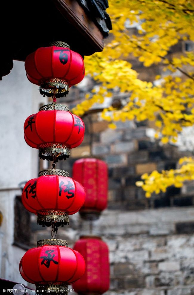 中式灯笼古代灯笼宫灯红灯笼图片