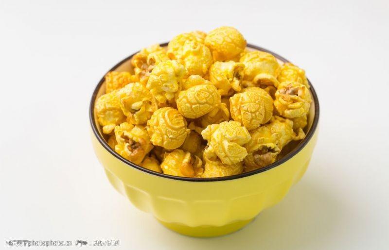 奶油味爆米花图片