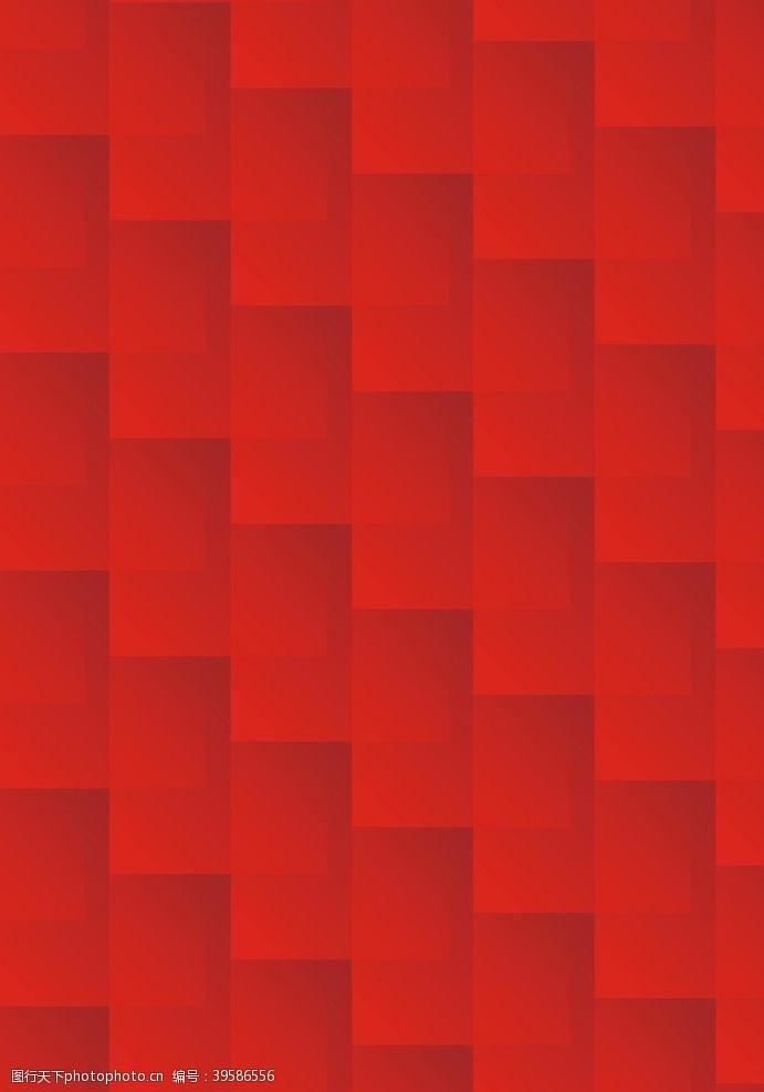 红色花纹暗纹图片
