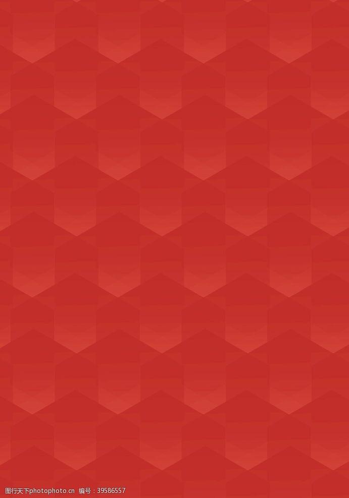 红色花纹红包背景图片