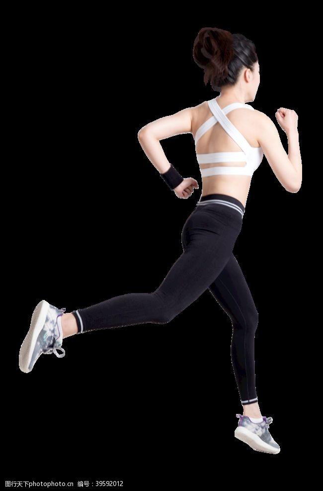 跑步运动跑步的身影图片