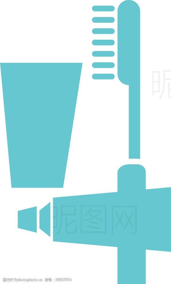 吹风机牙膏牙刷图片