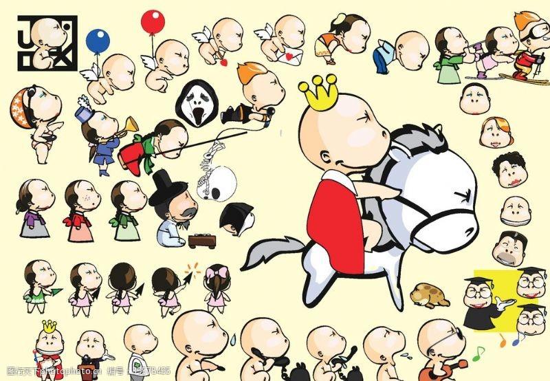 韩国卡通吉祥物设计图片