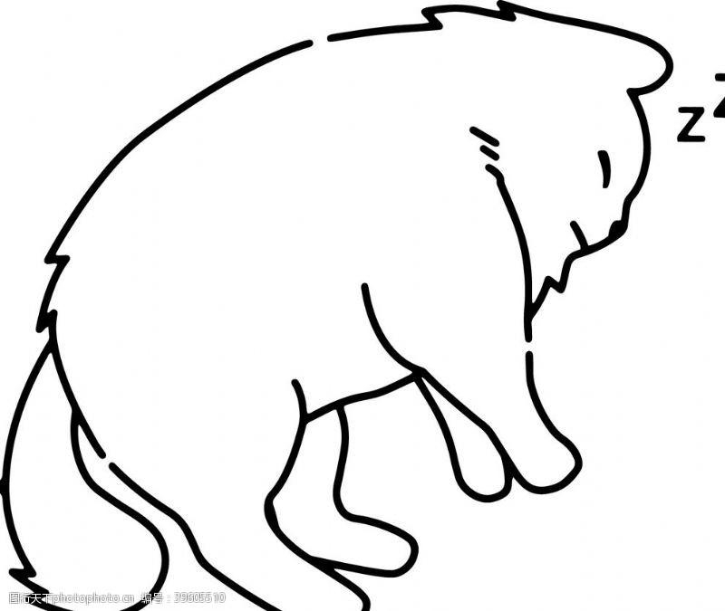 卡通宠物猫图片