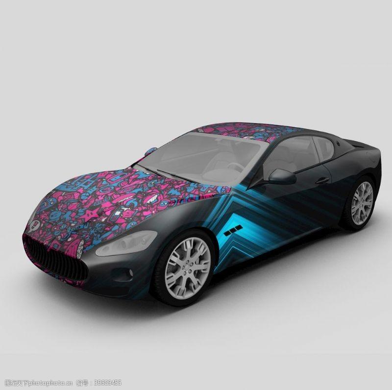 汽车展架汽车跑车图片