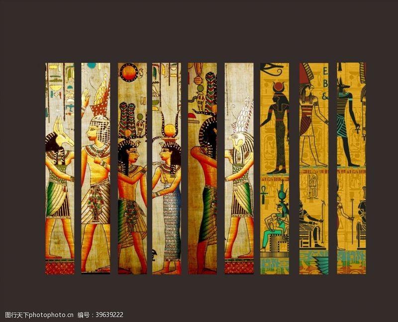 炫酷海报埃及图片