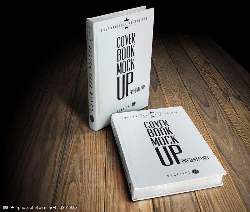书籍装帧设计书本样机图片