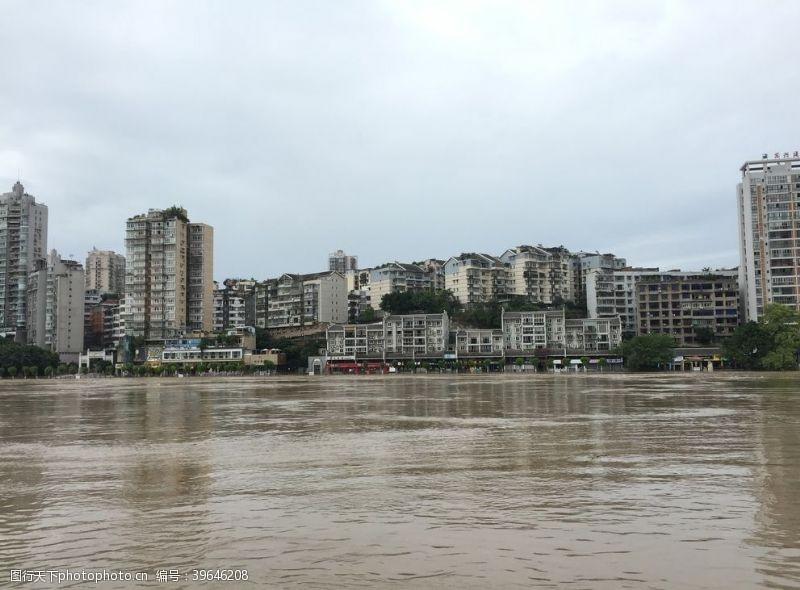 洪水城市图片