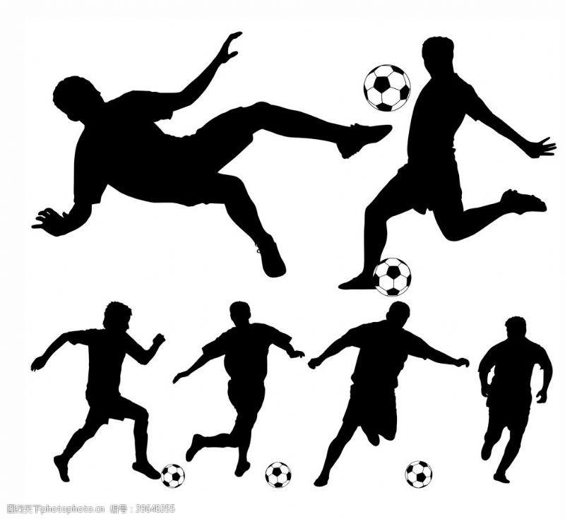 踢球踢足球图片
