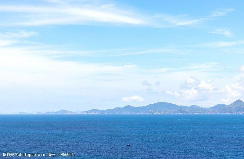 蓝色大海唯美大海图片