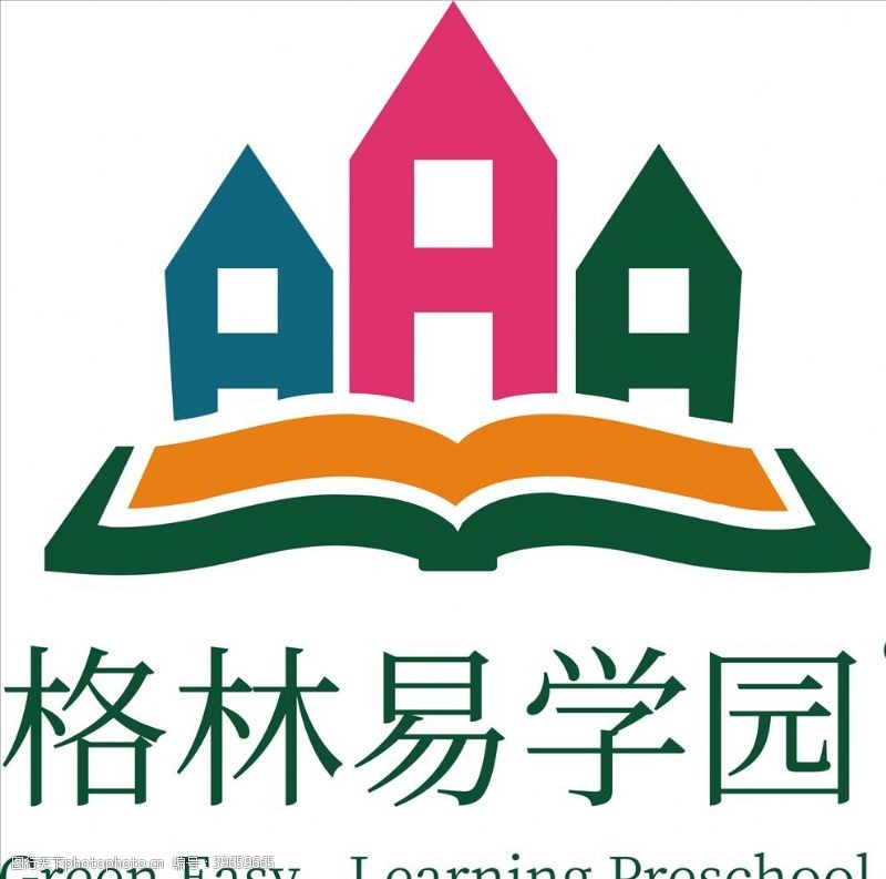 徽标学校标志图片
