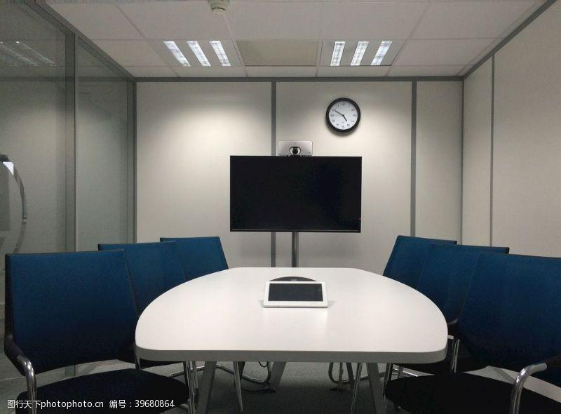 公司业务会议室椅子企业室内会议图片
