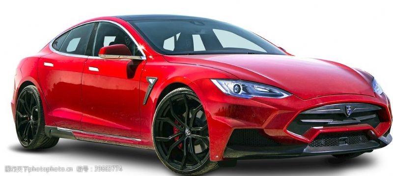 红色跑车汽车图片