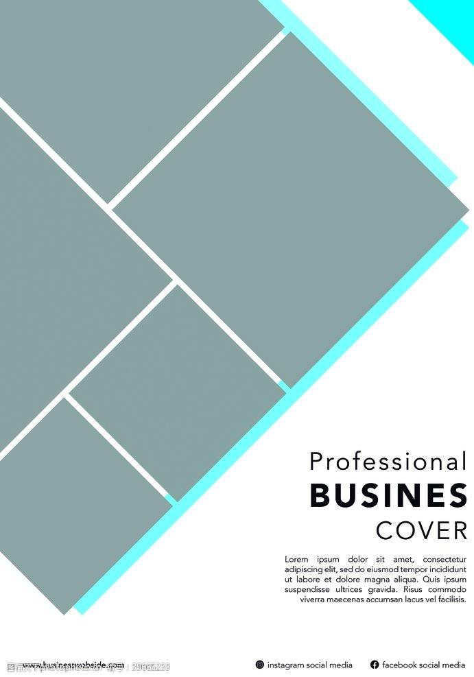 商业封面传单图片