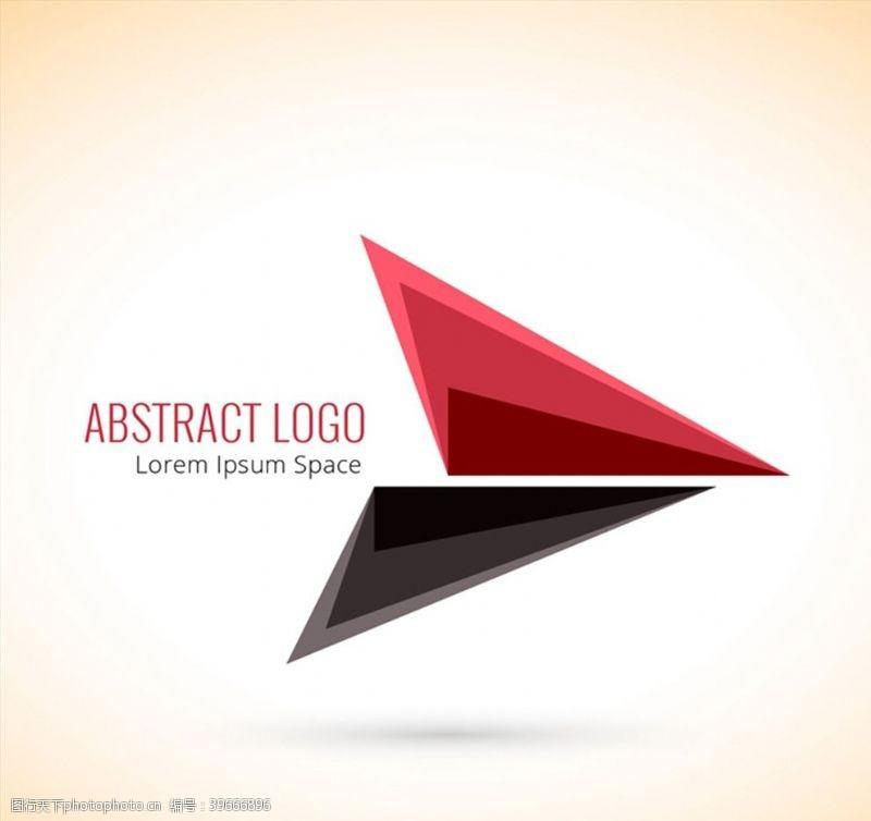 时尚三角形标志图片