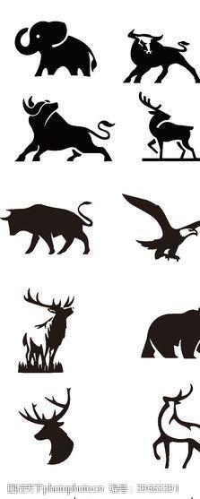 动物logo18个精美动物主题LOGO设计图片