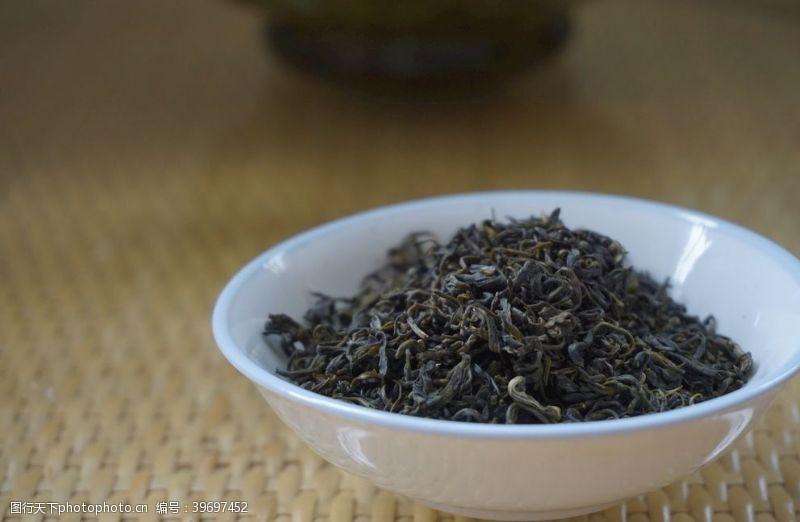 干茶叶茶叶图片