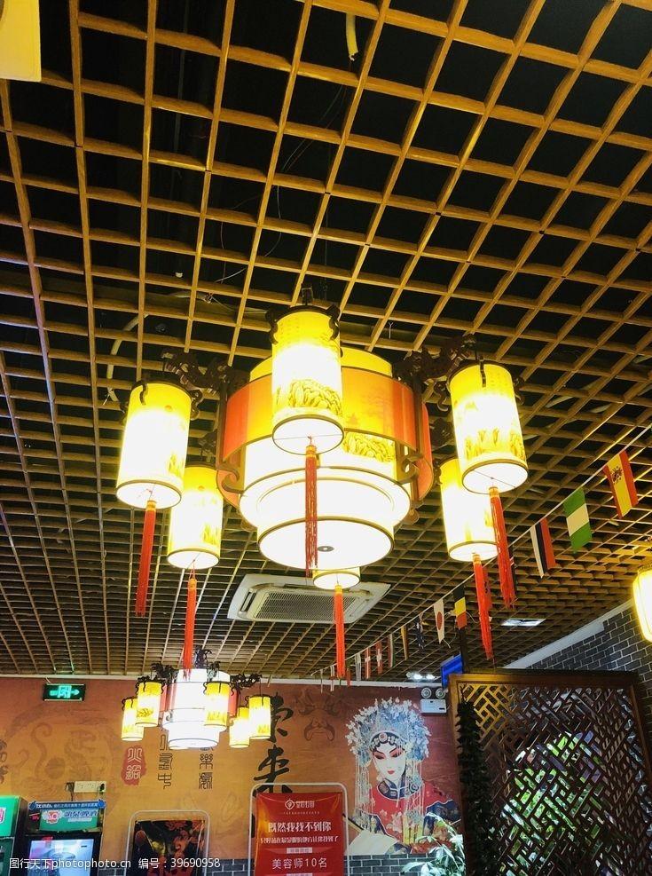 中式灯笼灯笼图片