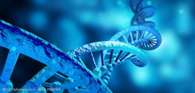 微生物DNA双螺旋图片