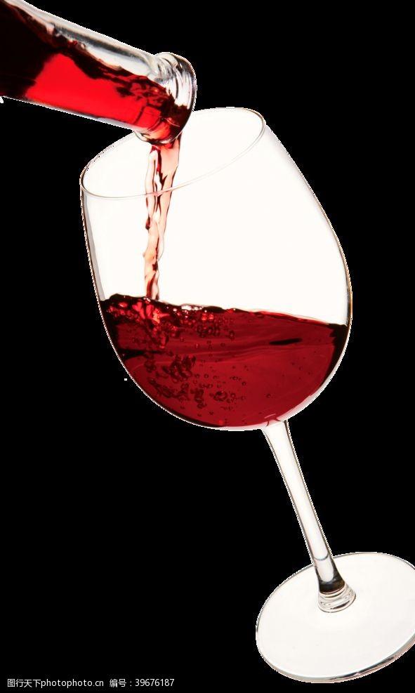 高脚杯葡萄酒图片