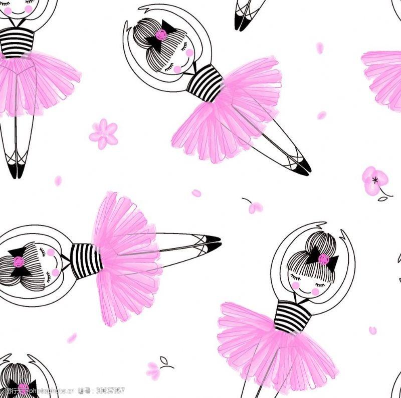 时尚经典跳舞的女孩图片