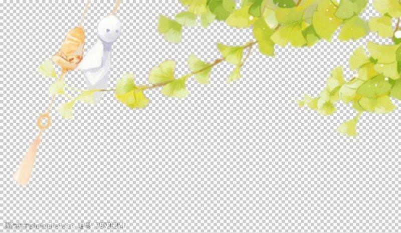 北欧简约植物元素图片
