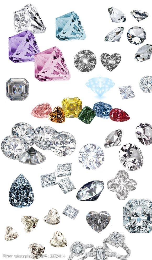 戒指钻石图片