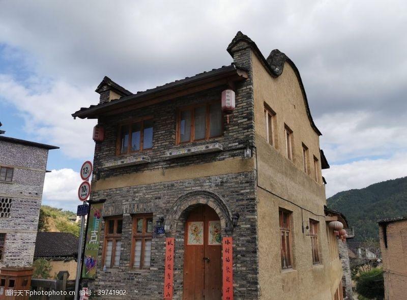 美丽乡村古村图片