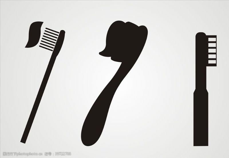 吹风机牙刷图片