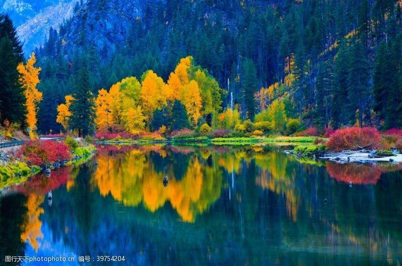 山脉摄影湖光山色图片