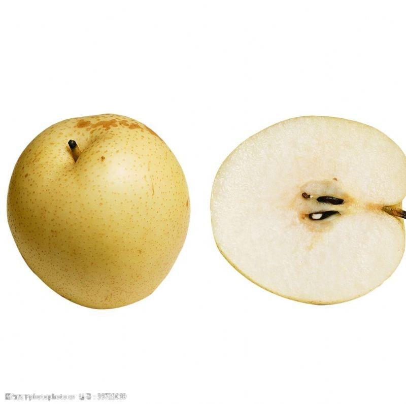 梨大鸭梨水果素材图片