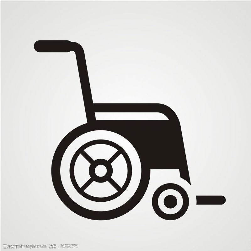 身体器官轮椅图片