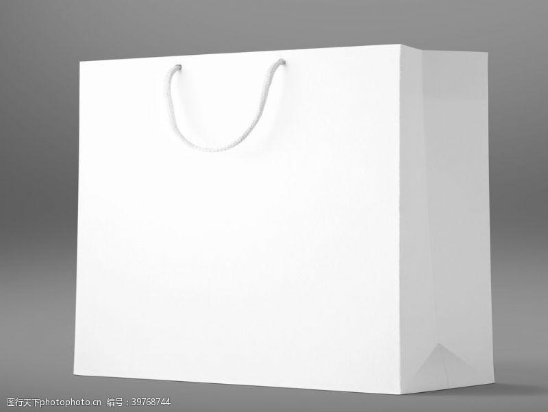 高端手提袋包装盒样机图片