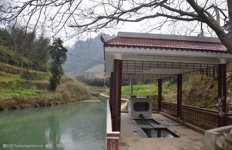 乡村旅游茶田镇江寨村图片