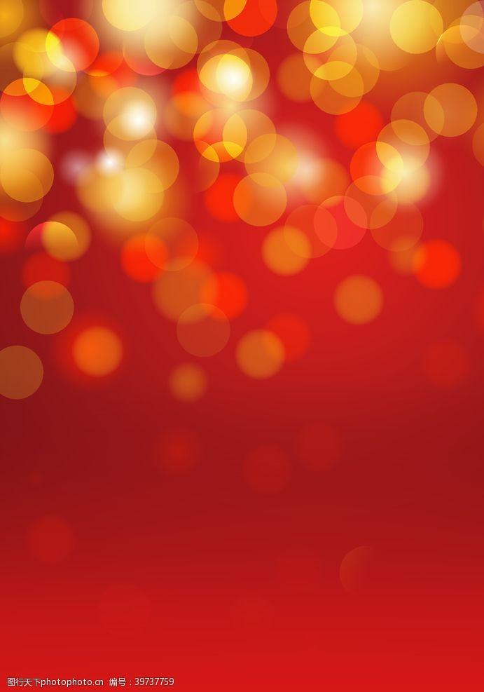 创意展板红色亮片背景图片